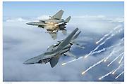 F-18 air-to-air
