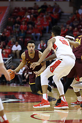 10 January 2018:  Marques Townes during a College mens basketball game between the Loyola Chicago Ramblers and Illinois State Redbirds in Redbird Arena, Normal IL
