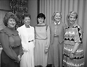 Irish Cookery contest awards at the Montrose Hotel, Dublin,<br />