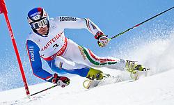 20.03.2011, Pista Silvano Beltrametti, Lenzerheide, SUI, FIS Ski Worldcup, Finale, Lenzerheide, NATIONEN TEAM EVENT, im Bild Manfred Moelgg (ITA)  // during Nations Team Event, at Pista Silvano Beltrametti, in Lenzerheide, Switzerland, 20/03/2011, EXPA Pictures © 2011, PhotoCredit: EXPA/ J. Feichter