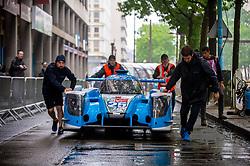 June 11, 2018 - Le Mans, FRANCE - 25 ALGARVE PRO RACING (PRT) LIGIER JSP217 GIBSON LMP2 MARK PATTERSON (USA) ATE DE JONG (PHL) TACKSUNG KIM  (Credit Image: © Panoramic via ZUMA Press)