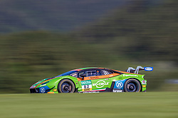 09.06.2019, Red Bull Ring, Spielberg, AUT, ADAC GT Masters Spielberg, Qualifikation, im Bild Rolf Ineichen (SUI)/Franck Perera (FRA) Lamborghini Huracán GT3 // Swiss ADAC GT Masters driver Rolf Ineichen/French ADAC GT Masters driver Franck Perera Lamborghini Huracán GT3 during the qualification for the ADAC GT Masters at the Red Bull Ring in Spielberg, Austria on 2019/06/09. EXPA Pictures © 2019, PhotoCredit: EXPA/ Dominik Angerer