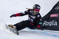 Emi Sato (JPN) during Final Run at Parallel Giant Slalom at FIS Snowboard World Cup Rogla 2019, on January 19, 2019 at Course Jasa, Rogla, Slovenia. Photo byJurij Vodusek / Sportida