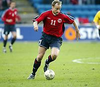 Fotball, 28. april 2004, Privatlandskamp, Norge-Russland 3-2, Sigurd Rushfeldt, Norge