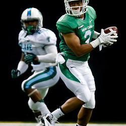 Oct 5, 2013; New Orleans, LA, USA; North Texas Mean Green wide receiver Brelan Chancellor (3) after the game during the first half at Mercedes-Benz Superdome. Mandatory Credit: Derick E. Hingle-USA TODAY Sports