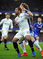 Football - 2016 / 2017 Premier League - Chelsea vs. Swansea City<br /> <br /> Wayne Routledge of Swansea at Stamford Bridge.<br /> <br /> COLORSPORT/ANDREW COWIE