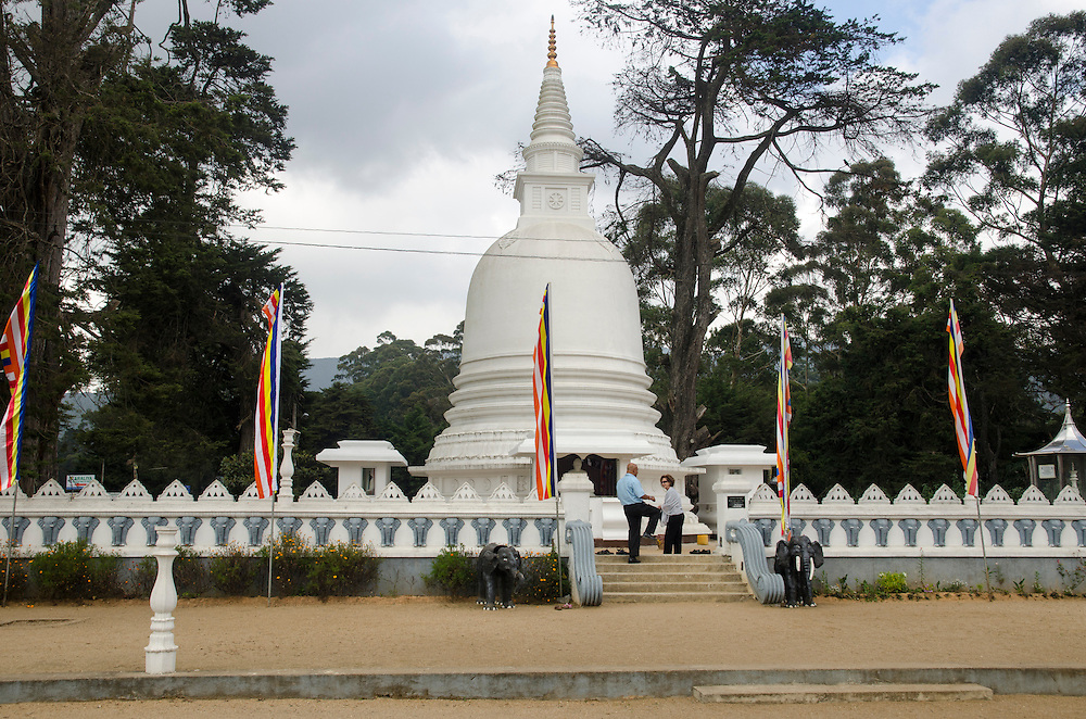 A temple in Nuwara Eliya, Hill Country, Sri Lanka
