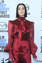 February 8, 2020, Los Angeles, California, United States: 2020 Film Independent Spirit Awards held at Santa Monica Pier..Featuring: St Vincent.Where: Los Angeles, California, United States.When: 08 Feb 2020.Credit: Faye's VisionCover Images (Credit Image: © Cover Images via ZUMA Press)