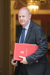 Downing Street, London, February 28th 2017. Work and Pensions Secretary Damian Green attends the weekly cabinet meeting at 10 Downing Street in London.