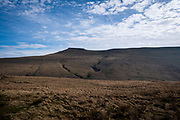 Landscape view of Pen Y Fan summit Brecon Beacons, Wales, Powys, United Kingdom.  (photo by Andrew Aitchison / In pictures via Getty Images)