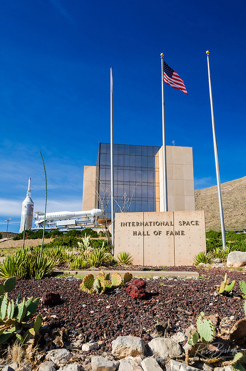 Rockets at the International Space Hall of Fame, Alamogordo, New Mexico USA