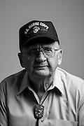 Joseph W. Glavan<br /> Marine Corps<br /> E-4<br /> Mortarman<br /> Feb. 1943 - Apr. 1946<br /> WWII (Pacific)<br /> <br /> Veterans Portrait Project<br /> Colorado Springs, CO San Antonio, Texas