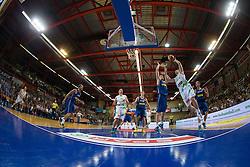 Zoran Dragic of Slovenia during friendly match between National teams of Slovenia and Ukraine for Eurobasket 2013 on July 26, 2013 in Dvorana Komunalnega centra, Domzale, Slovenia. Slovenia defeated Ukraine 74-46. (Photo by Vid Ponikvar / Sportida.com)
