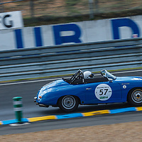 #57, Porsche 356 A 1600 Speedster T2, 1958, driver: Jeff Moyes, Grid 3, on 06/07/2018 at the 24H of Le Mans, 2018