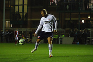 Bolton's Eidur Gudjohnsen in action. Barclays U21 Premier league match, Bolton Wanderers U21's  v Middlesbrough U21's at The Leyland county ground in Bolton, Lancs on Monday 1st December 2014.<br /> pic by Chris Stading, Andrew Orchard sports photography.