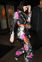 Kendall Jenner leaves event in NYC. 11 Feb 2018 Pictured: Kendall Jenner leaves event in NYC. Photo credit: MEGA TheMegaAgency.com +1 888 505 6342