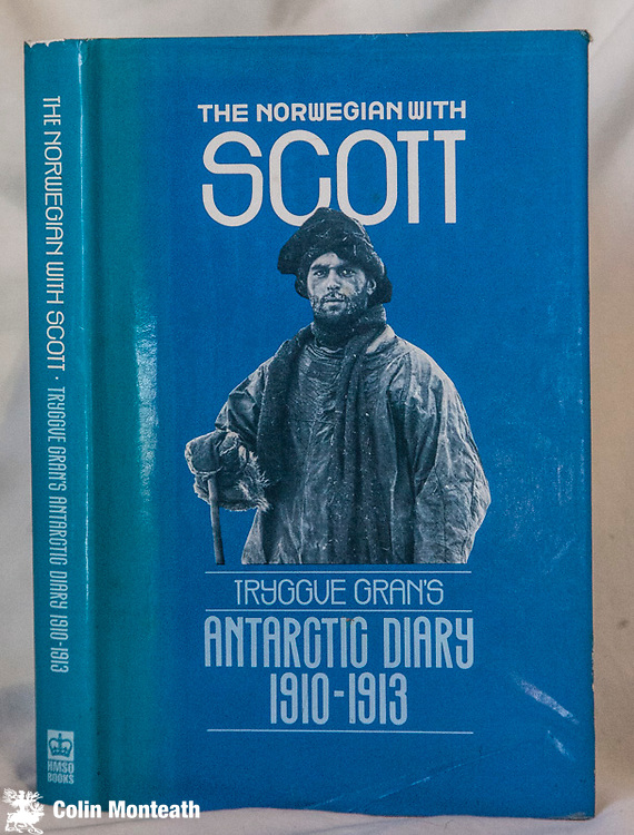THE NORWEGIAN WITH SCOTT, Tryggve Gran, National maritime Museum, UK, 1984, 258 page VG hardback with VG jacket/sl sunned spine,  B&W plates, maps, The Antarctic diary of Tryggve Gran 1910-13 - Gran did much to teach Scott's men to ski - Back in New Zealand Gran climbed Aoraki Mount Cook with two local guides...and later, as a pilot flew from Crudden bay, near Aberdeen, Scotland  across the North Sea to Norway, the first such flight. A hard to find title - Copy #3 $NZ75