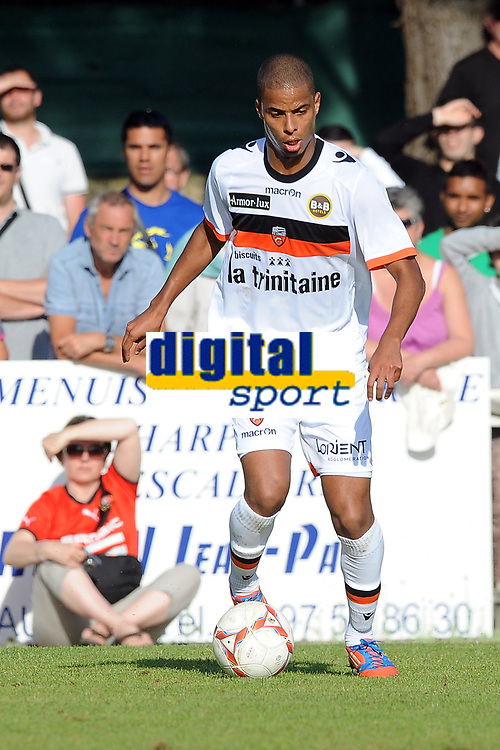 FOOTBALL - FRIENDLY GAMES 2012/2013 - STADE RENNAIS v FC LORIENT - 21/07/2011 - PHOTO PASCAL ALLEE / DPPI - KEVIN MONNET-PAQUET (FCL)