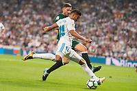 Real Madrid's Carlos Henrique Casemiro during La Liga match between Real Madrid and Real Betis at Santiago Bernabeu Stadium in Madrid, Spain September 20, 2017. (ALTERPHOTOS/Borja B.Hojas)