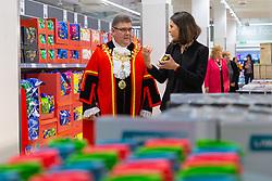 Opening of Lidl store in Uxbridge. Uxbridge, February 28 2019.