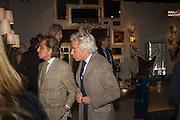 VALENTINO GARAVANI; GIANCARLO GIAMMETTI; , Preview of Pad. Berkeley Sq. London. 12 October 2015