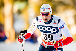 December 16, 2017 - Toblach, ITALY - 171216 Niklas Dyrhaug of Norway competes in men's 15km interval start free technique during FIS Cross-Country World Cup on December 16, 2017 in Toblach..Photo: Jon Olav Nesvold / BILDBYRN / kod JE / 160104 (Credit Image: © Jon Olav Nesvold/Bildbyran via ZUMA Wire)