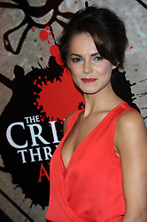Kara Tointon during the Crime Thriller Awards. London, United Kingdom. Thursday, 24th October 2013. Picture by Chris Joseph / i-Images