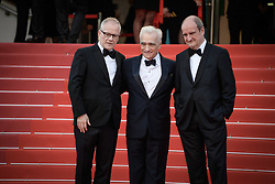 Thierry Fremaux, Martin Scorsese and Pierre Lescure attending the screening of Everybody Knows (Todos Lo Saben) opening the 71st annual Cannes Film Festival at Palais des Festivals on May 8, 2018 in Cannes, France. Photo by Julien Zannoni/APS-Medias/ABACAPRESS.COM