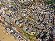 Nederland, Zuid-Holland, Den Haag, 14-09-2019; Scheveningen, strand, boulevard, Museum Beelden aan Zee.<br /> Scheveningen, beach and boulevard.<br /> luchtfoto (toeslag op standard tarieven);<br /> aerial photo (additional fee required);<br /> copyright foto/photo Siebe Swart