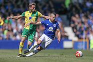 Everton v Norwich City 150516