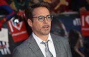 April 26, 2016 - Robert Downey Jr. attending 'Captain America: Civil War' European Film Premiere at Vue Westfield in London, UK.<br /> ©Exclusivepix Media