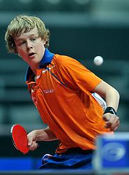 09-05-2011 TAFELTENNIS: WORLD TABLE TENNIS CHAMPIONSHIPS: ROTTERDAM<br /> Koen Hageraats NED<br /> ©2011-FotoHoogendoorn.nl