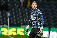 Derby County goalkeeper Kelle Roos (21) during the EFL Sky Bet Championship match between West Bromwich Albion and Derby County at The Hawthorns, West Bromwich, England on 14 September 2021.