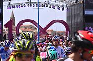 Start, Thibaut PINOT (FRA) FDJ, during the 100th Tour of Italy 2017, Giro d'Italia, Stage 1, Alghero - Olbia (206km), on May 5, in Sardegna, Italy - Photo Tim De Waele / ProSportsImages / DPPI