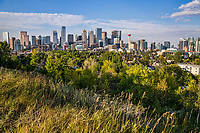 Downtown Calgary from Hillcrest Avenue SW