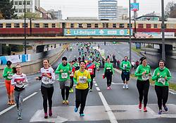 10km Run at Volkswagen 22nd Ljubljana Marathon 2017, on October 29, 2017 in Ljubljana, Slovenia. Photo by Vid Ponikvar / Sportida