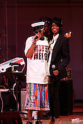 Mos Def and Renee Neuville at Mos Def Presents: Amino Alkaline - The Watermelon Syndicate with special guest Gil Scott Heron, Produced by Jill Newman Productions held at The JVC JAZZ FESTIVAL/CARNEGIE HALL on JUNE 28. . A consummate emcee, vocalist, musician and actor, it was no surprise when Mos Def premiered the Mos Def Big Band in January 2007, drawing from original compositions plus material by Miles Davis, Beyoncé, James Brown and Gil-Scott Heron. Always willing to bend genres to create his own sound, Mos lithely dances among hip hop, jazz and soul while fronting his orchestra of savvy musicians. His face is as familiar as his sound; his acting credits include Be Kind Rewind, 16 Blocks, Something the Lord Made, Lackawanna Blues and Top Dog/Underdog.  America started hearing Gil Scott-Heron?s messages in 1970, but we heard him loudly and clearly when he declared ?The Revolution Will Not Be Televised? in 1974. A no-nonsense performer and lyricist, he wasn?t called a rapper then, but that?s what he was. Today, his younger counterparts and fans call him the king of spoken word.