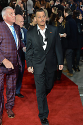 © Licensed to London News Pictures. 02/11/2017. London, UK. JOHNNY DEPP attends the World Film premiere of Murder On The Orient Express . Photo credit: Ray Tang/LNP