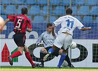 15.08.2004, Tor zum 1:0 durch Vratislav Lokvenc Bochum<br /> Bundesliga VfL Bochum - Bayer 04 Leverkusen