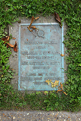 26 August 2017:   A part of the History of McLean County Illinois.<br /> <br /> Tombstones in Evergreen Memorial Cemetery.  Civic leaders, soldiers, and other prominent people are featured.<br /> <br /> Presidents General, NSDAR<br /> Mrs. Adlai E Stevenson<br /> 1893-94, 1896-97<br /> Mrs. Matthew T Scott<br /> 1909-1912<br /> Placed May 11, 1967<br /> Letitia Green Stevenson<br /> Chapter