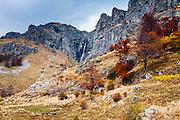 Highest waterfall in Balkan Mountains