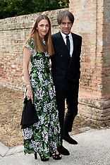 Italy: Guests arrive @ Jessica Chastain & Gian Luca Passi de Preposulo Wedding - 10 June 2017