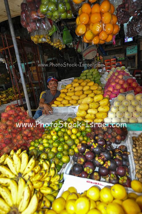 Food market, Manila, Philippines