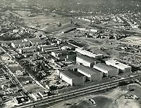 1938 Aerial of Fox Movietone Studios in West Los Angeles