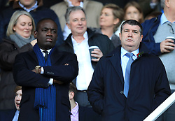 Reading director of football Brian Tevreden and Vice Chairman Ron Gourlay