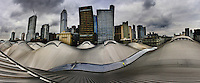 Southern Cross Station roof and skyline.  Pic By Craig Sillitoe melbourne photographers, commercial photographers, industrial photographers, corporate photographer, architectural photographers, This photograph can be used for non commercial uses with attribution. Credit: Craig Sillitoe Photography / http://www.csillitoe.com<br /> <br /> It is protected under the Creative Commons Attribution-NonCommercial-ShareAlike 4.0 International License. To view a copy of this license, visit http://creativecommons.org/licenses/by-nc-sa/4.0/. This photograph can be used for non commercial uses with attribution. Credit: Craig Sillitoe Photography / http://www.csillitoe.com<br /> <br /> It is protected under the Creative Commons Attribution-NonCommercial-ShareAlike 4.0 International License. To view a copy of this license, visit http://creativecommons.org/licenses/by-nc-sa/4.0/. This photograph can be used for non commercial uses with attribution. Credit: Craig Sillitoe Photography / http://www.csillitoe.com<br /> <br /> It is protected under the Creative Commons Attribution-NonCommercial-ShareAlike 4.0 International License. To view a copy of this license, visit http://creativecommons.org/licenses/by-nc-sa/4.0/.