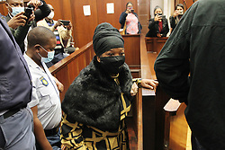 South Africa - Durban - 05 October 2020 - Former KZN commissioner Mmamonye Ngobeni and police captain Aswin Narainpershad handed themselves over in Durban Central police station and later appered in Durban magistrate court where they granted bail for their corruption charges<br /> Picture: Doctor Ngcobo/African News Agency(ANA)