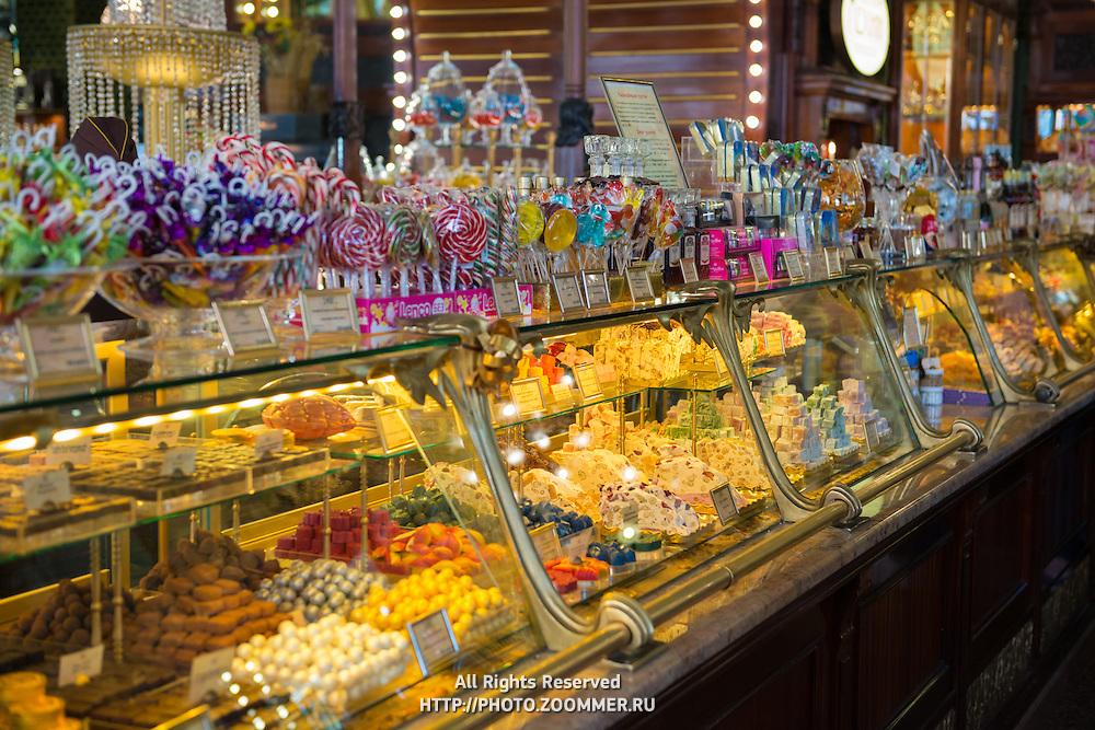 Sweet Shop In Eliseevsky Retro Store, Saint Petersburg