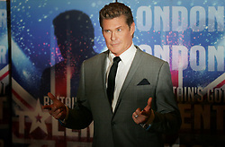 © under license to London News Pictures. 13/04/11 David Hasselhoff at Britain's Got Talent series launch at the Mayfair Hotel, London.. He will be on the judging panel Photo credit should read: Olivia Harris/ London News Pictures