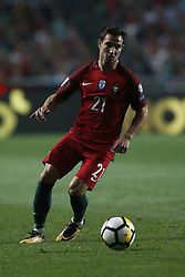 October 10, 2017 - Lisbon, Portugal - Portugal's defender Cedric Soares in action during the FIFA World Cup WC 2018 football qualifier match between Portugal and Switzerland, in Lisbon, on October 10, 2017. (Credit Image: © Carlos Palma/NurPhoto via ZUMA Press)